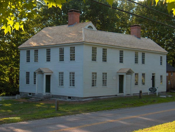 Circa 1820 John Bishop Museum House Wood Roofing Replacement