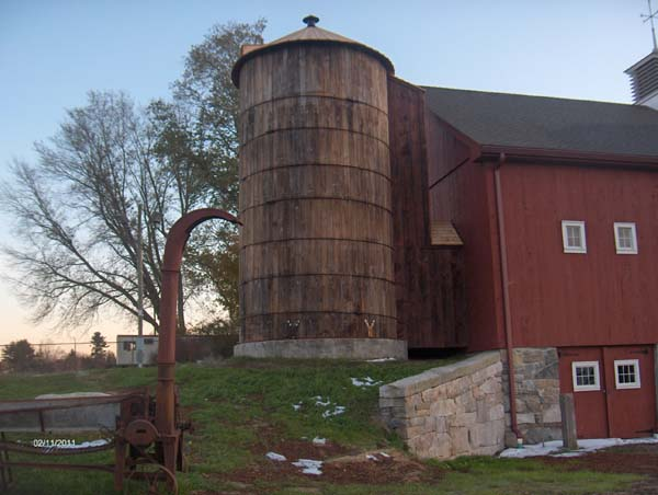 Historic Silo Dismantling Move And Reconstruction By Olde